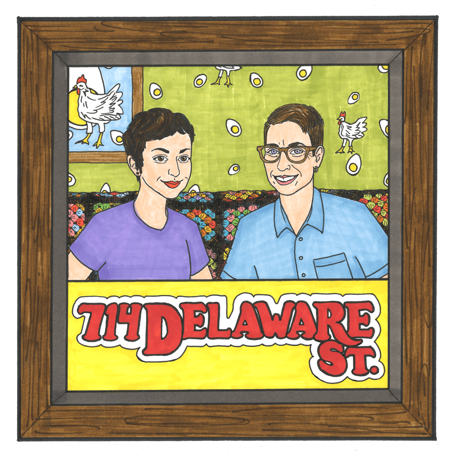 714 Delaware St.: A Podcast about Roseanne and The Conners